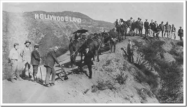 Hollywoodland with teamsters - DaveTavres.com