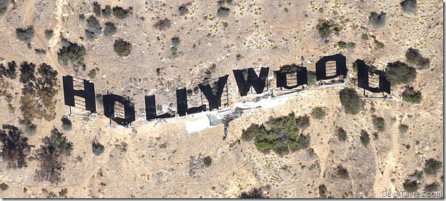 Helicopter shot from Google maps - DaveTavres.com