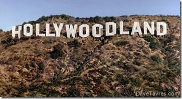 """Hollywoodland"" as seen in the movie ""Chaplin"" - DaveTavres.com"